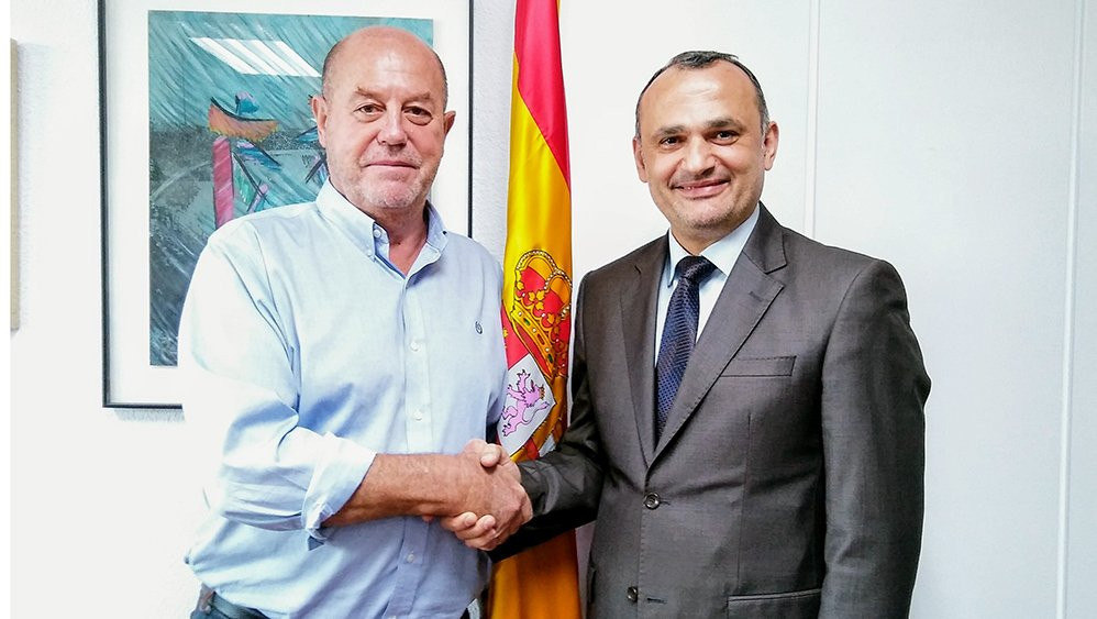 WKF President meets Turkish Federation counterpart in Madrid