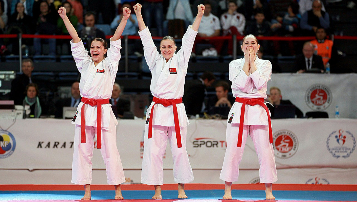 Turkey has long been one of the world's most successful karate nations ©TKF