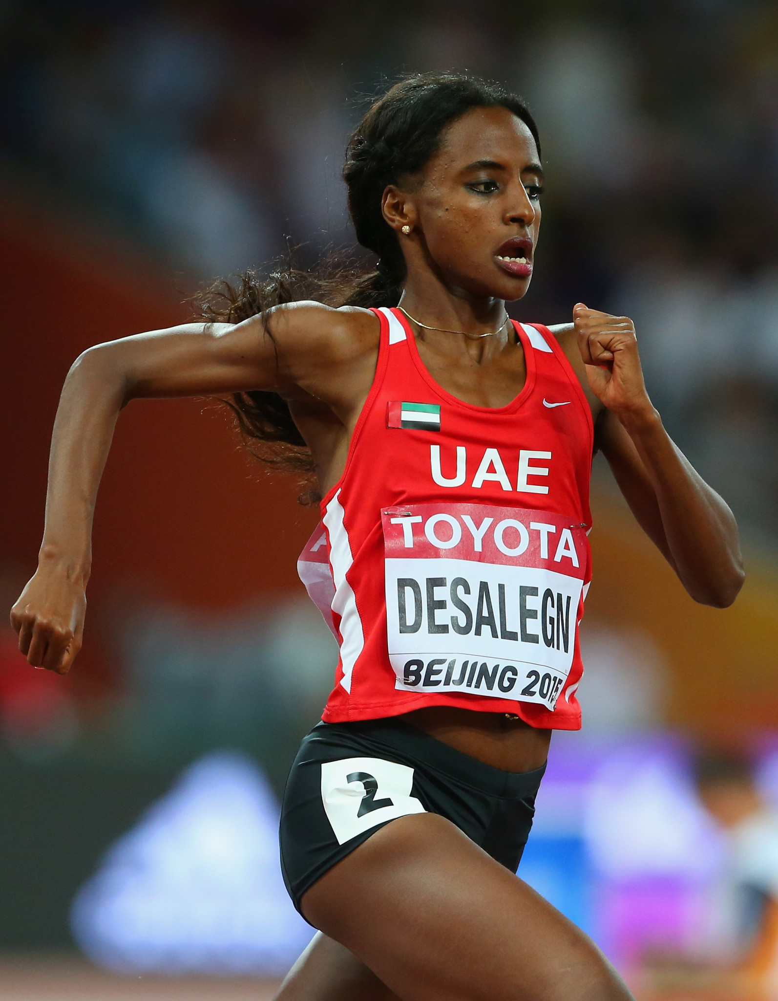 The Athletics Integrity Unit has today welcomed the decision of the Court of Arbitration for Sport to impose a two-year ban on Emirati middle-distance runner Betlhem Desalegn ©Getty Images