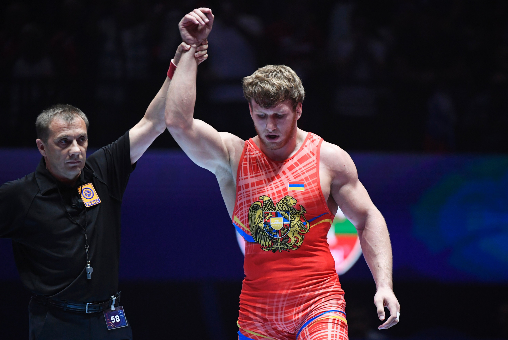The coach and father of Rio 2016 gold medallist Artur Aleksanyan led one of the courses ©Getty Images