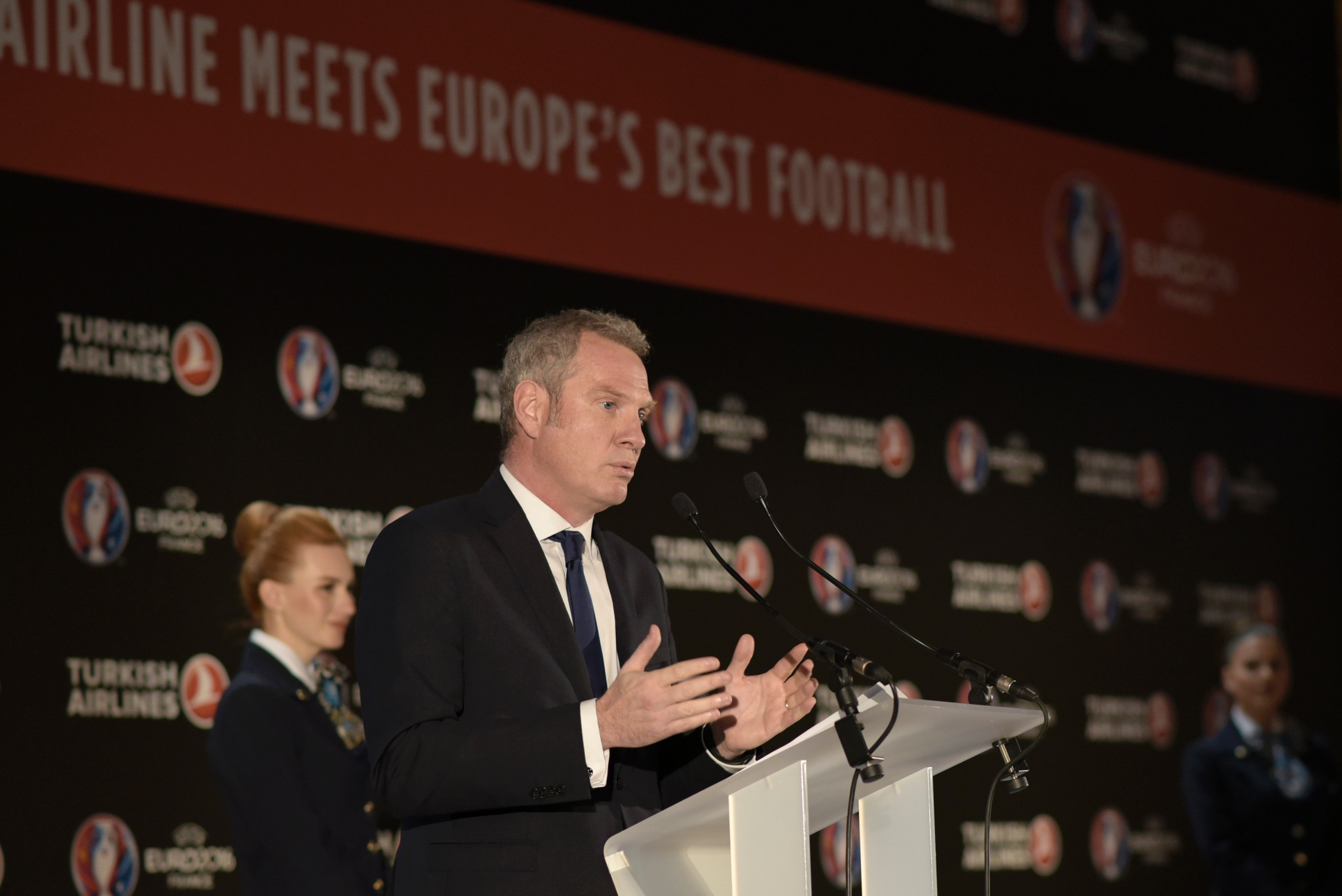 Guy-Laurent Epstein said the Nations League would enhance the value of international matches ©Getty Images
