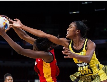 Jamaica claim comfortable victory over Uganda in Netball World Cup to keep pursuit of semi-final spot alive