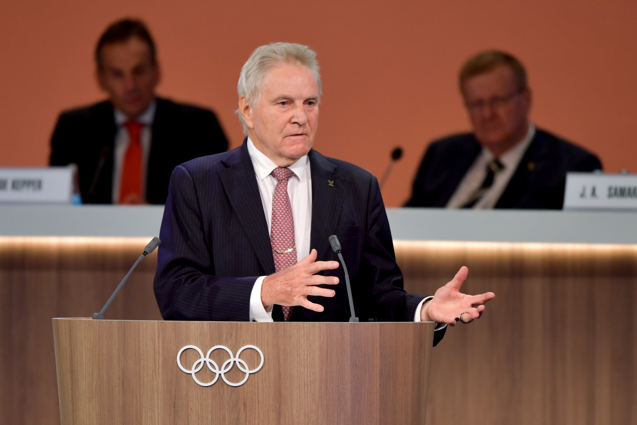Denis Oswald is leading the other Commission looking into allegations of institutional doping in Russia ©Getty Images
