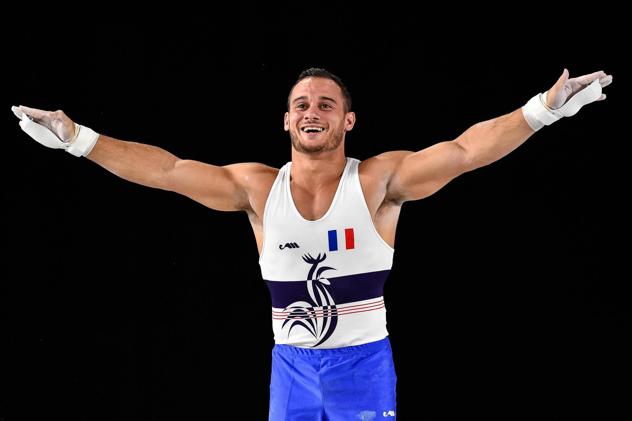 French gymnast Samir Aït Saïd has boldly declared he will end his Olympic Games demons by winning a gold medal at Tokyo 2020 ©Getty Images