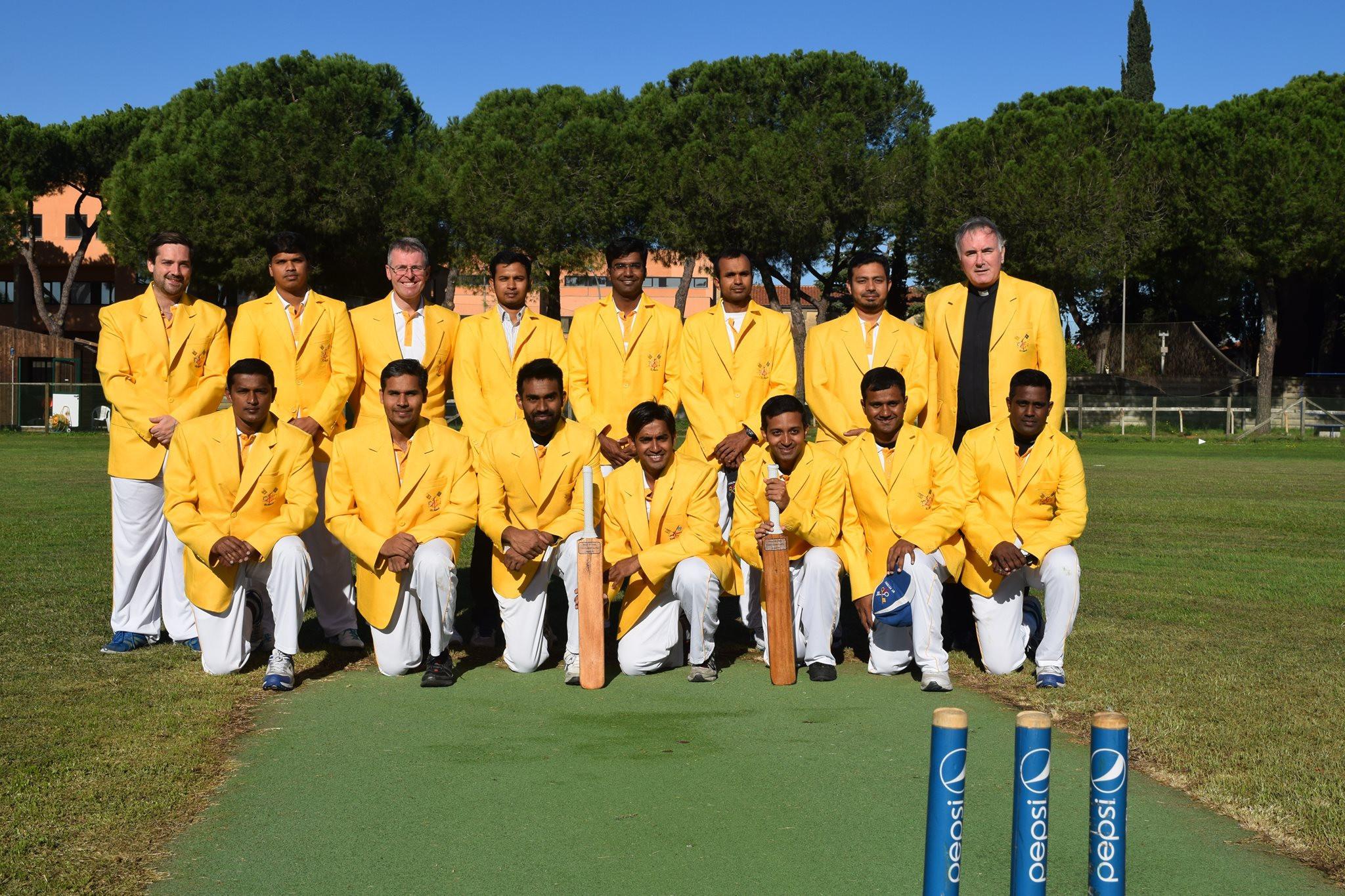 Vatican cricket team defeats British counterparts