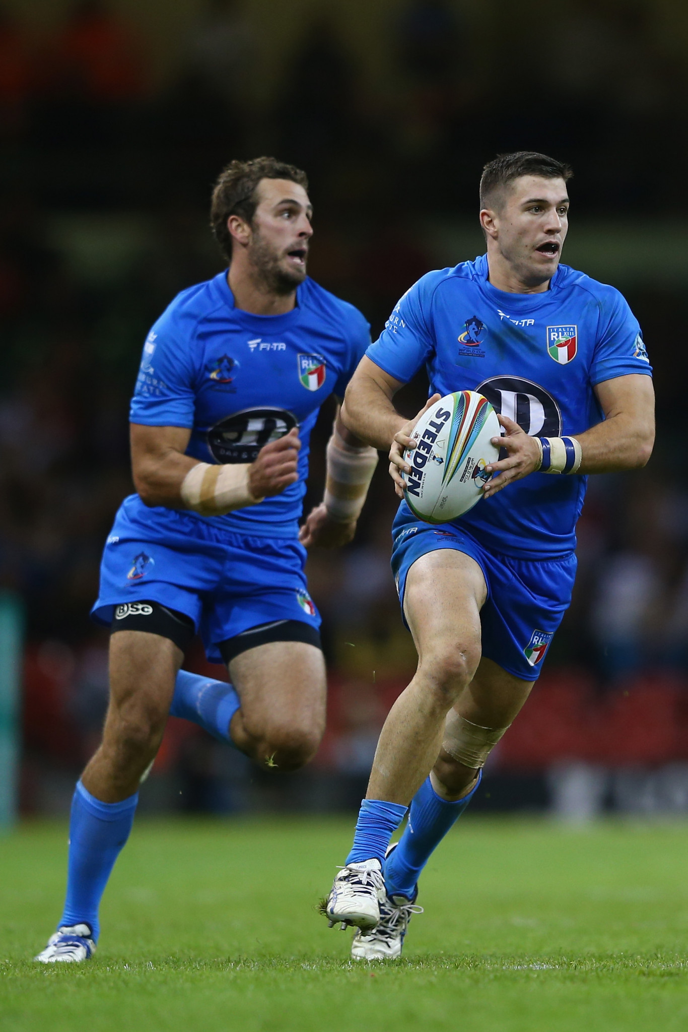 Italy made their Rugby League World Cup debut in 2013 ©Getty Images