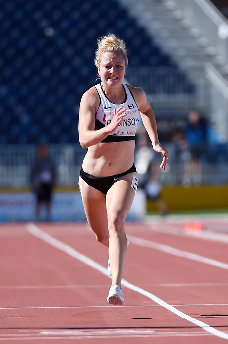 Hosts Canada performed strongly on the third day of athletics