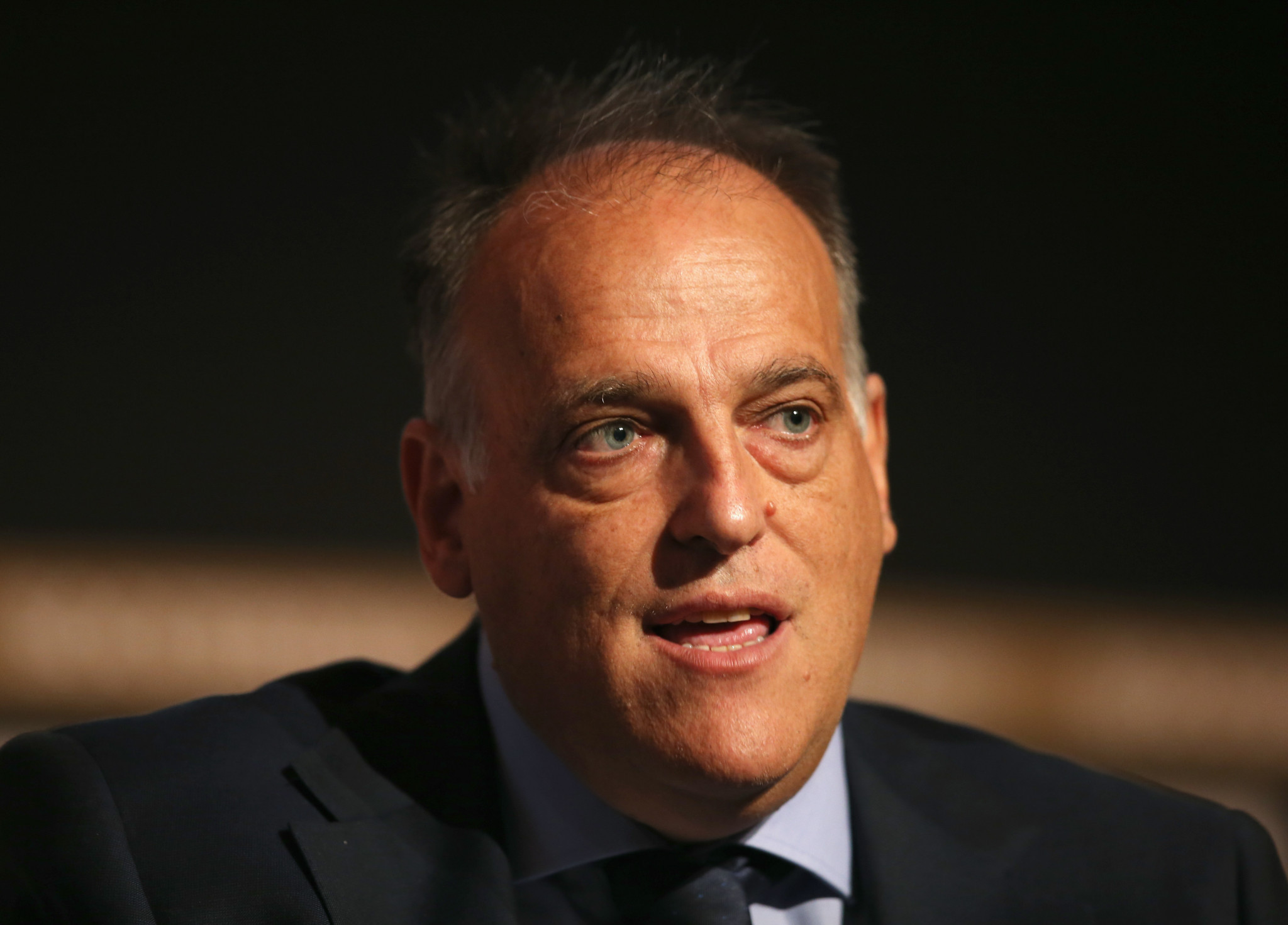 Javier Tebas, La Liga President, envisages investing in other Spanish sports federations ©Getty Images