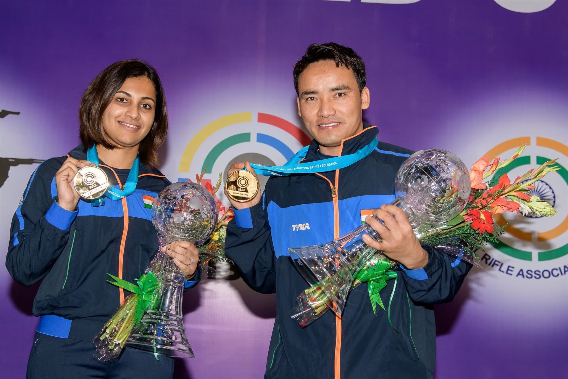 Indian shooters secure home gold as ISSF World Cup Final begins in New Delhi