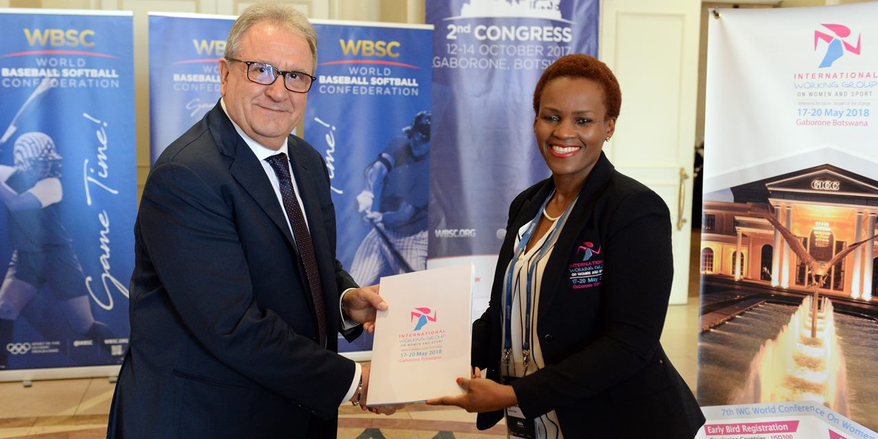 WBSC gives backing to women's sport declaration