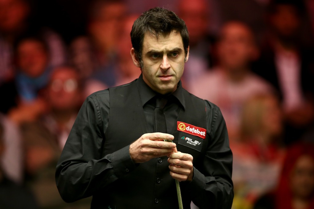 Ronnie O'Sullivan feels winning Olympic gold would not be the pinnacle for a snooker player ©Getty Images