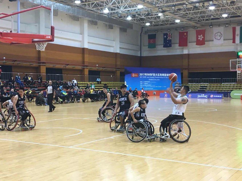 South Korea upset hosts China at IWBF Asian Oceania Championships