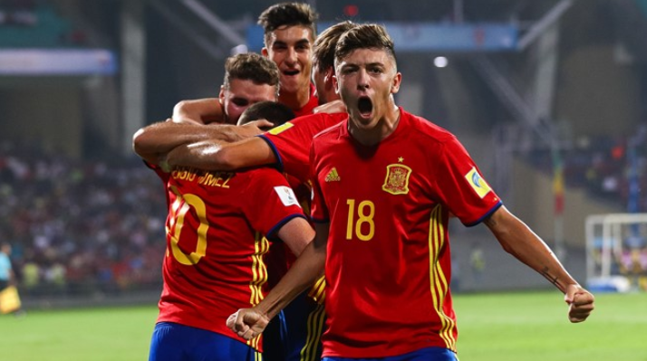 Spain cruised past Mali to reach the final ©Getty Images