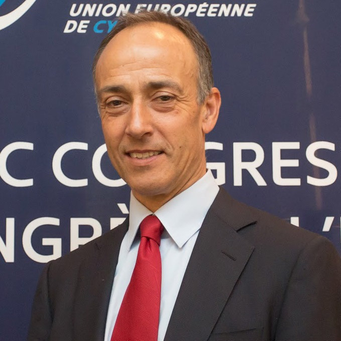Cattaneo set to be elected permanent President of European Cycling Union