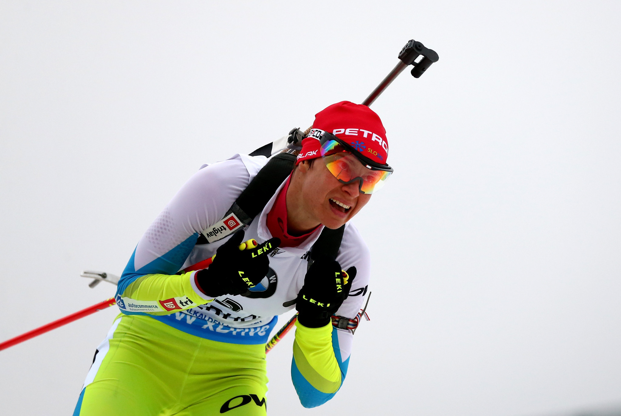 Slovenian biathlete Teja Gregorin has been named as the sole athlete caught in International Olympic Committee retests of doping samples from the Vancouver 2010 Winter Olympic Games ©Getty Images
