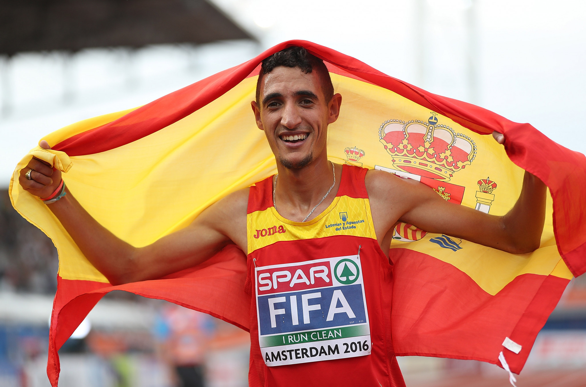 Reigning European 5,000 metres champion Ilias Fifa has been arrested in Barcelona for suspected links to a doping ring ©Getty Images