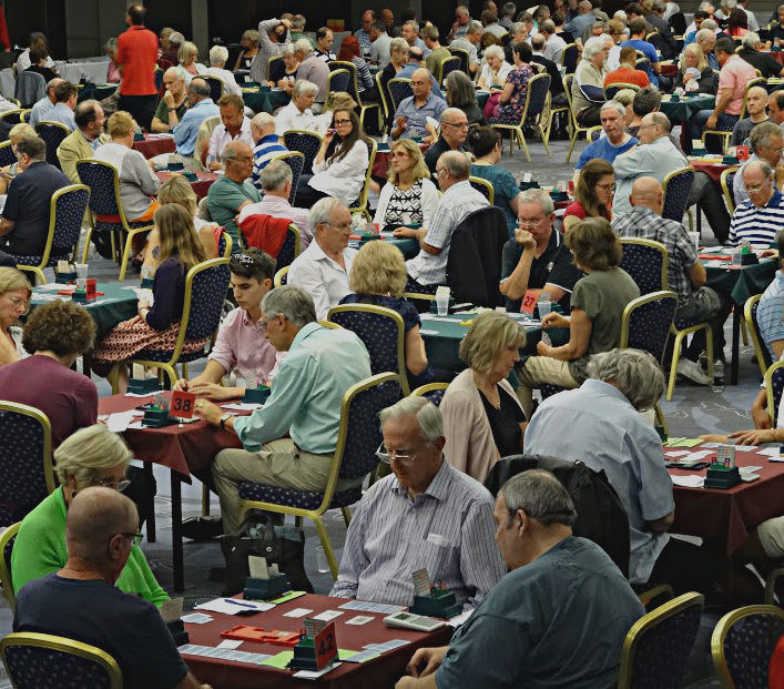 Bridge is particularly popular among older people ©English Bridge Union