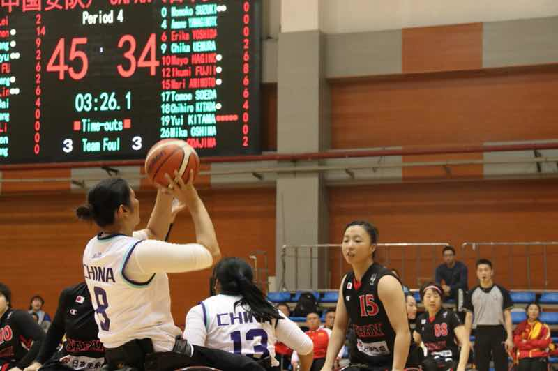 Australia and China through to women's final at IWBF Asia Oceania Championships