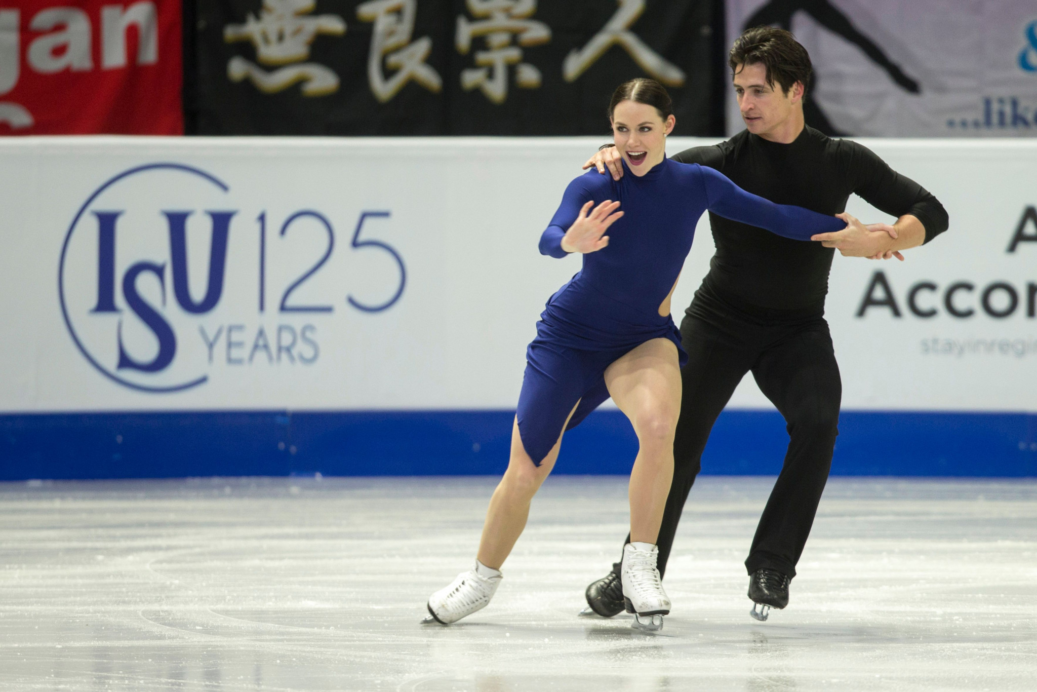 Three-time reigning world champions Tessa Virtue and Scott Moir will be aiming for their seventh Skate Canada International ice dance title ©Getty Images