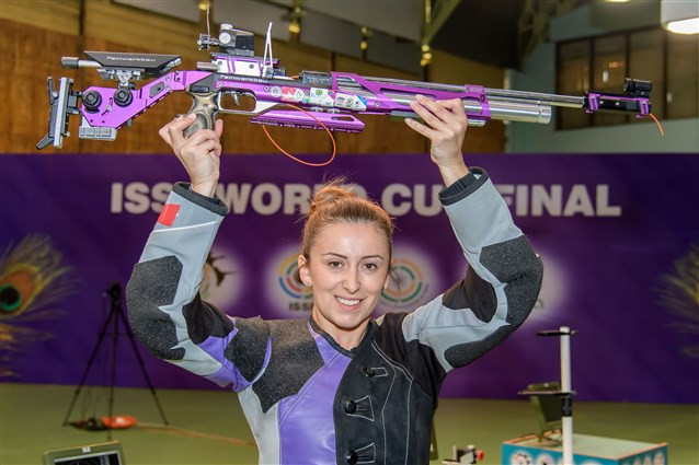 Arsovic triumphs at ISSF World Cup Final in New Delhi
