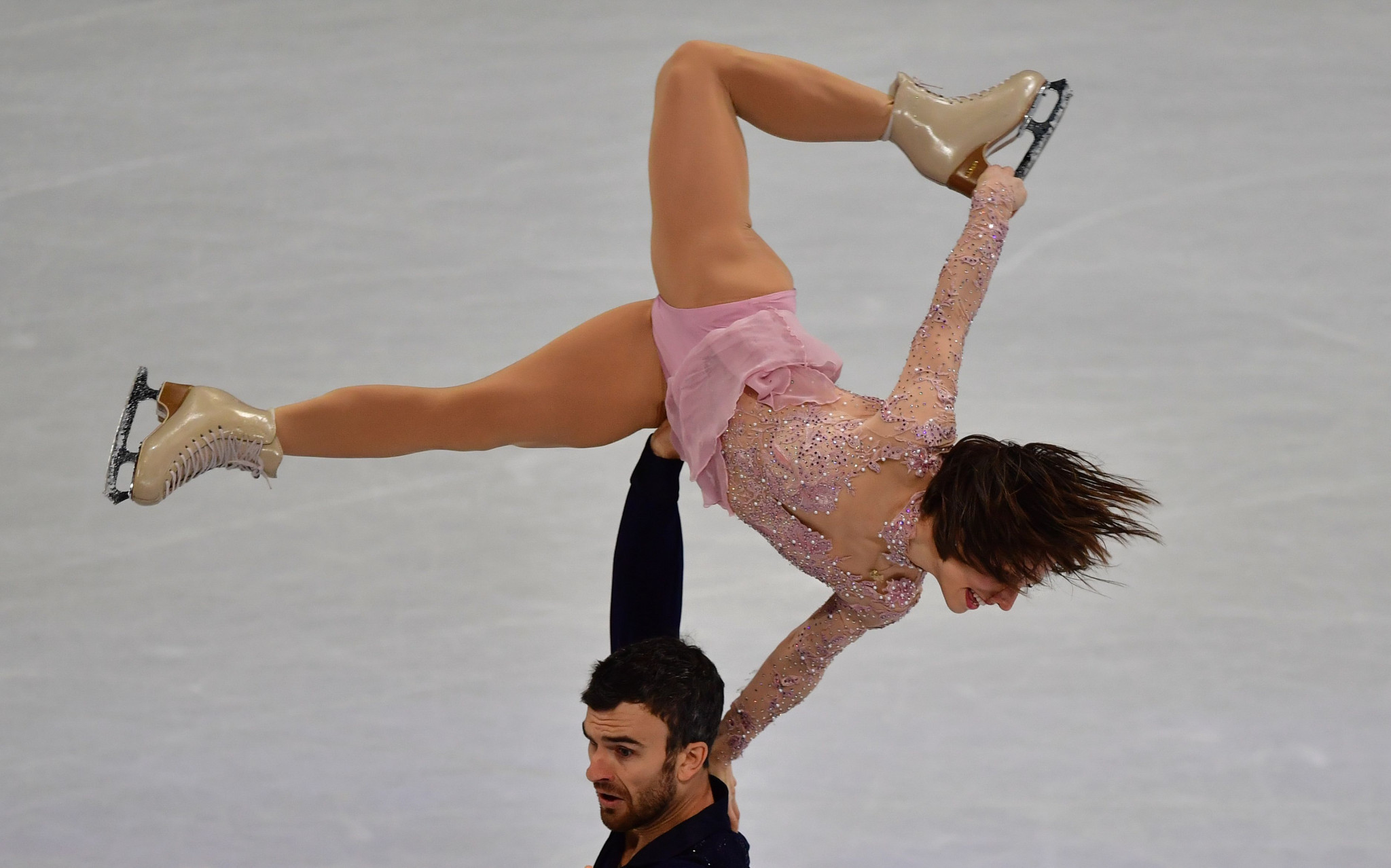 Two-time world champions Meagan Duhamel and Eric Radford of Canada lead the pairs start list ©Getty Images