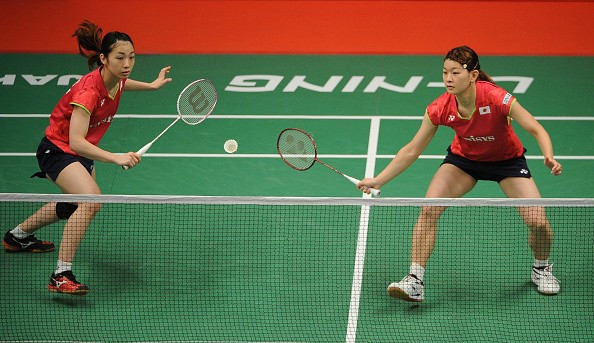 Japan's Misaki Matsutomo and Ayaka Takahashi were unable to justify their top seed ranking in Jakarta ©Getty Images