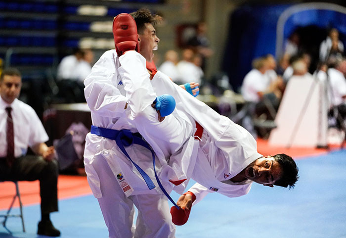 Egypt shine on day two of WKF Cadet, Junior and Under-21 Championships