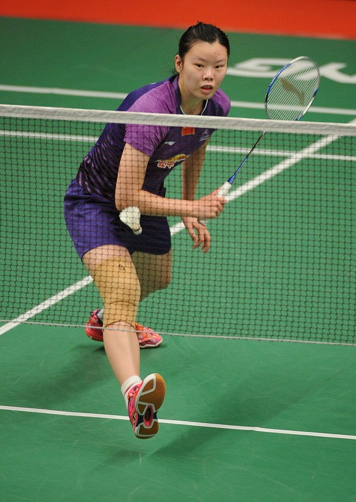 London 2012 gold medallist Li Xuerui of China lost out to India's PV Sindhu in the women's singles