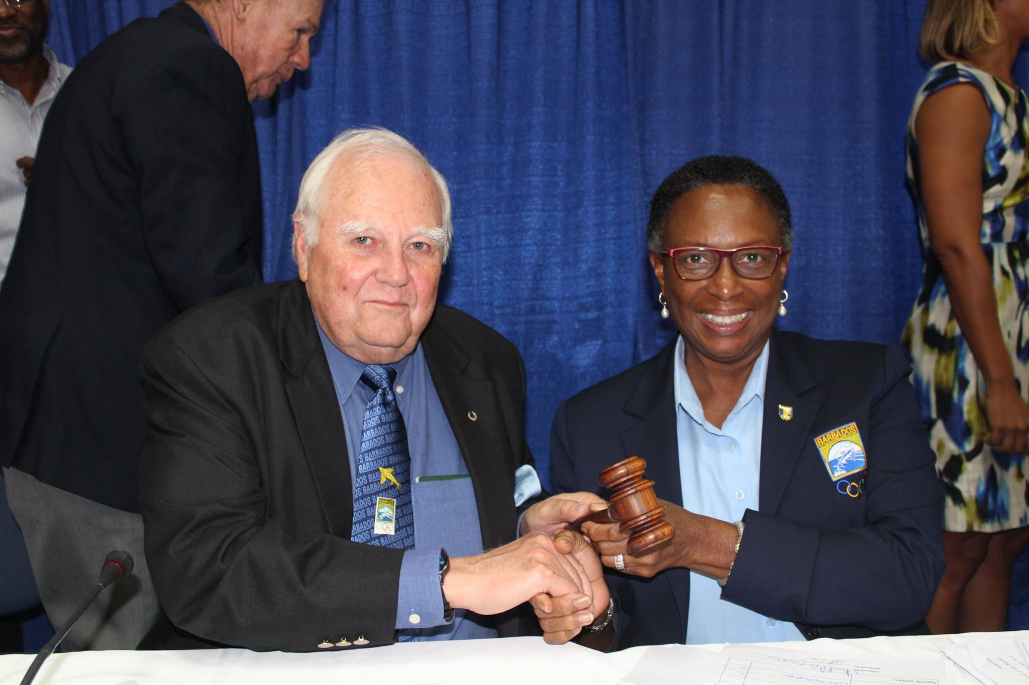 Osborne elected to replace Stoute as Barbados Olympic Association President
