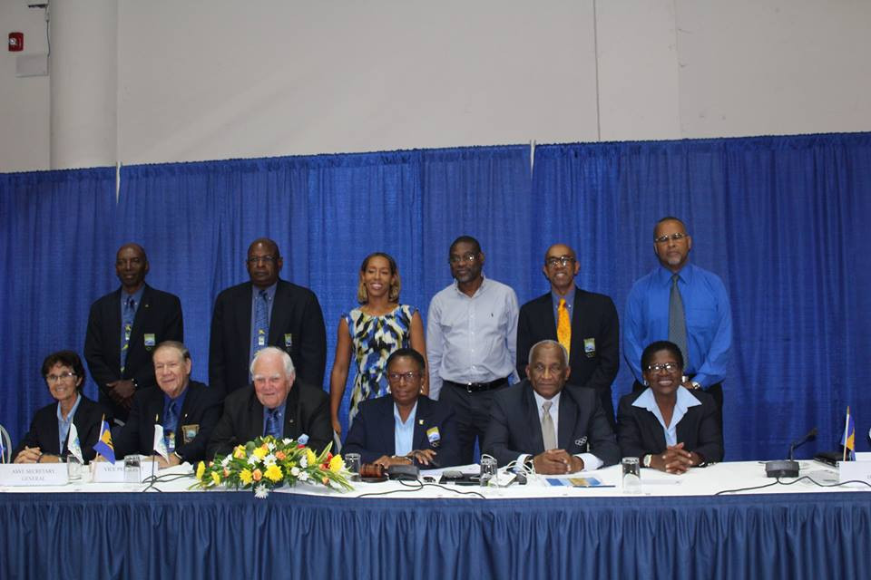 The new Board of the Barbados Olympic Association gather following the election ©BOA/Facebook
