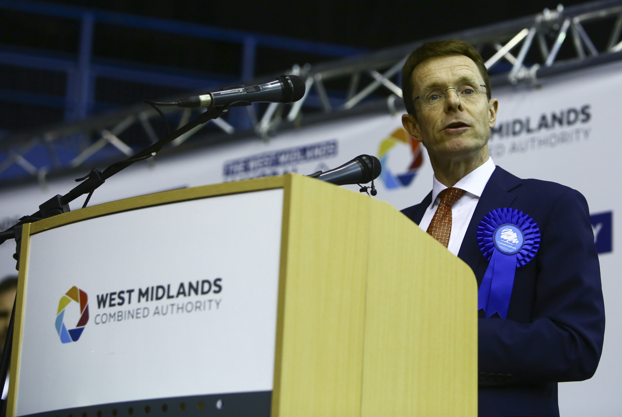 West Midlands Mayor Andy Street was among the recipients of the letter signed by MPs from across the whole region ©Getty Images
