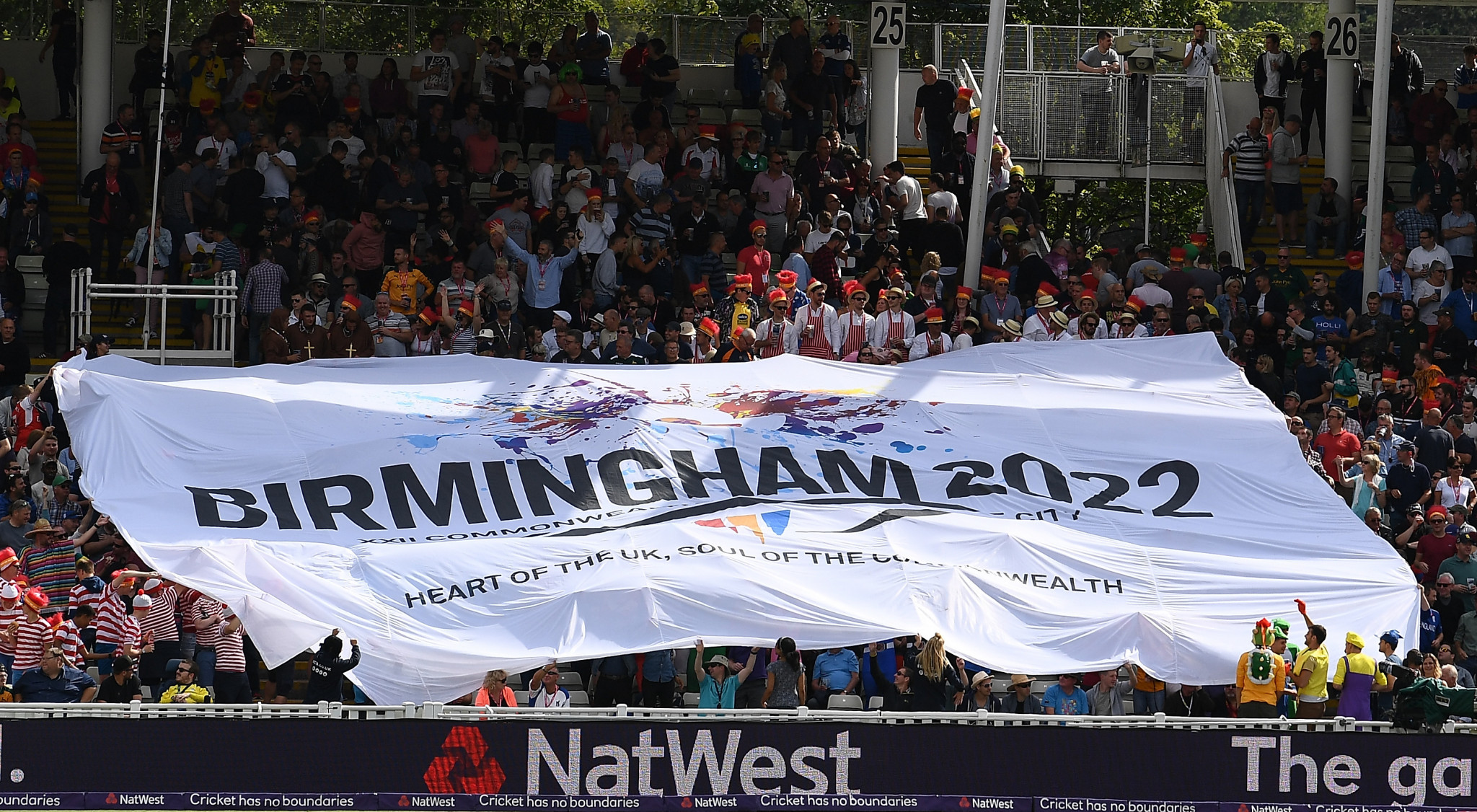 Birmingham is currently the sole bidder for the 2022 Commonwealth Games ©Getty Images