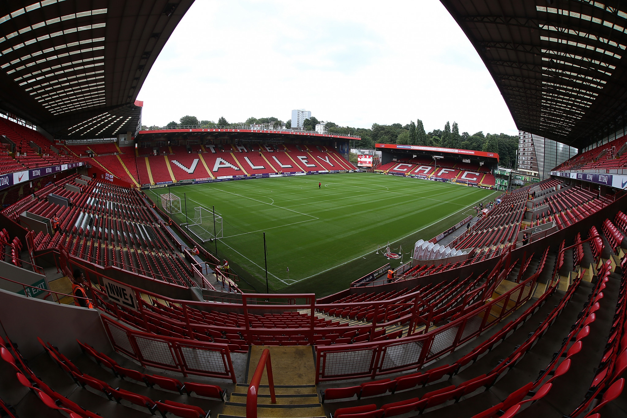 Charlton Athletic's The Valley is a potential host of the tournament ©Getty Images