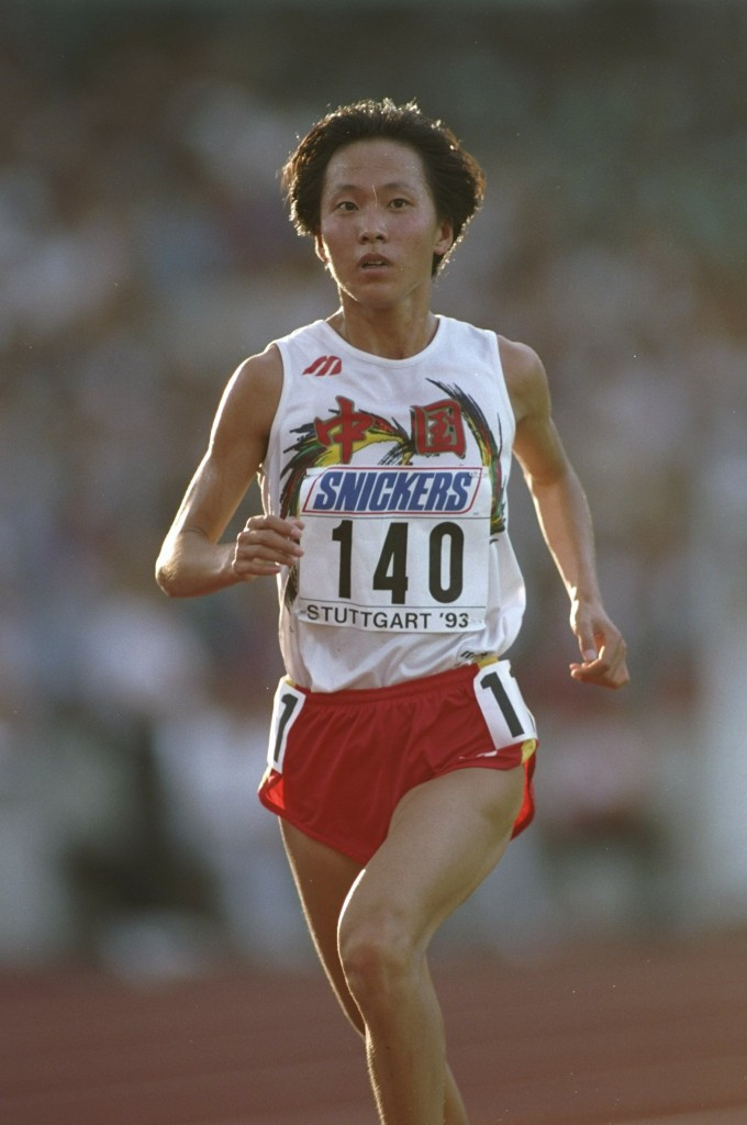 China's Wang Junxia set the world record for the 10,000m in Stuttgart in 1993, a mark many believed would never be broken ©Getty Images