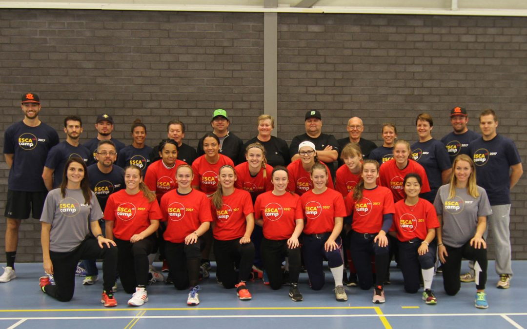 Eight countries attend European Softball Federation coaching course