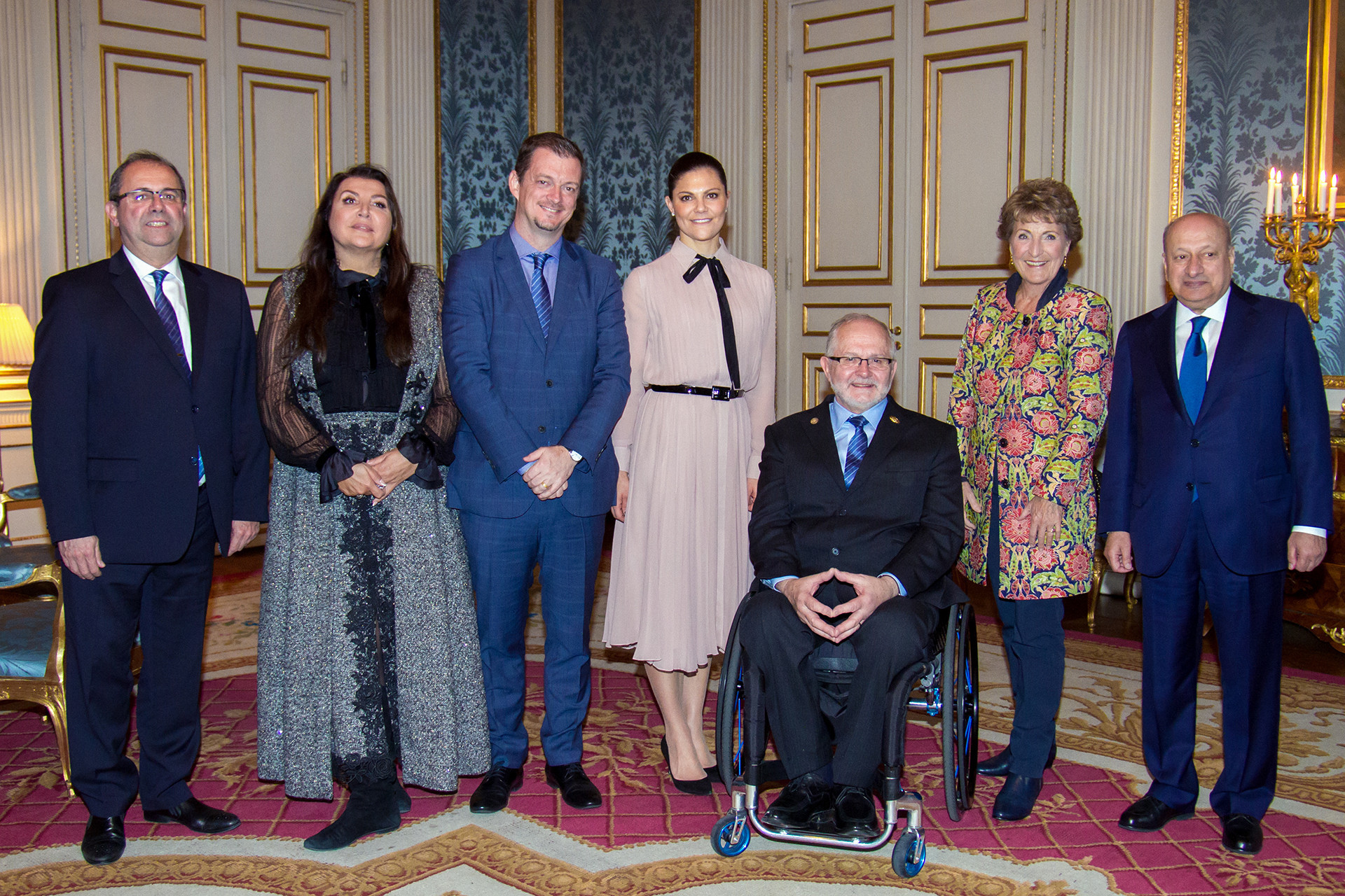 IPC Honorary Board meeting welcomed by royal host in Sweden