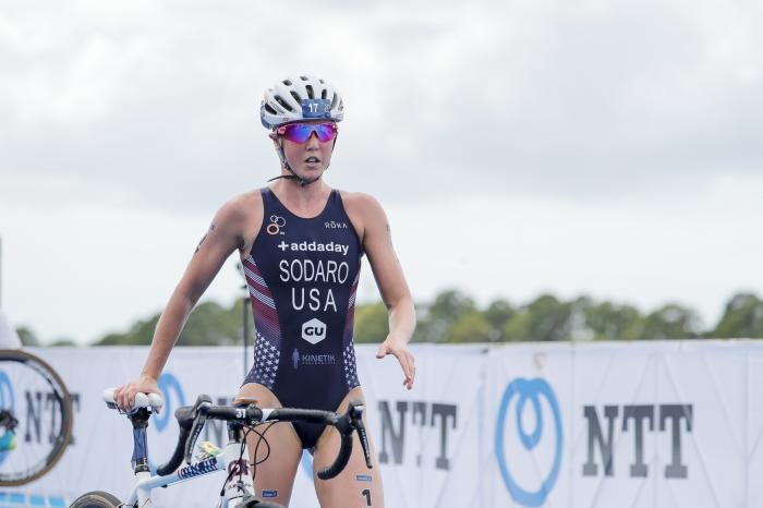 Sodaro looking to build on podium finish with ITU World Cup series set to continue in Tongyeong