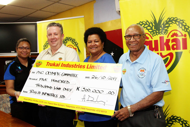 Papua New Guinea sport has often received backing from Trukai ©PNGOC