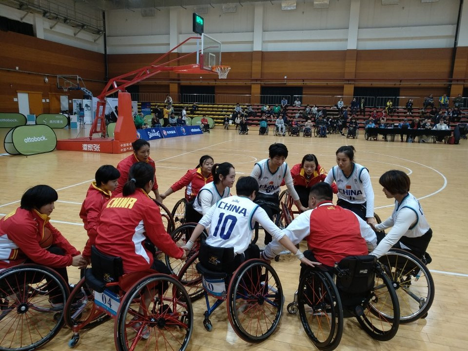 China beat Australia to women's crown at IWBF Asia Oceania Championships