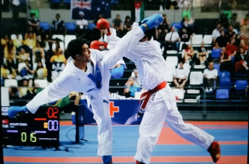 The competitors in the junior kumite categories are the karatekas who will fight to qualify for the 2018 Summer Youth Olympic Games in Argentina's capital Buenos Aires ©TOC/Twitter