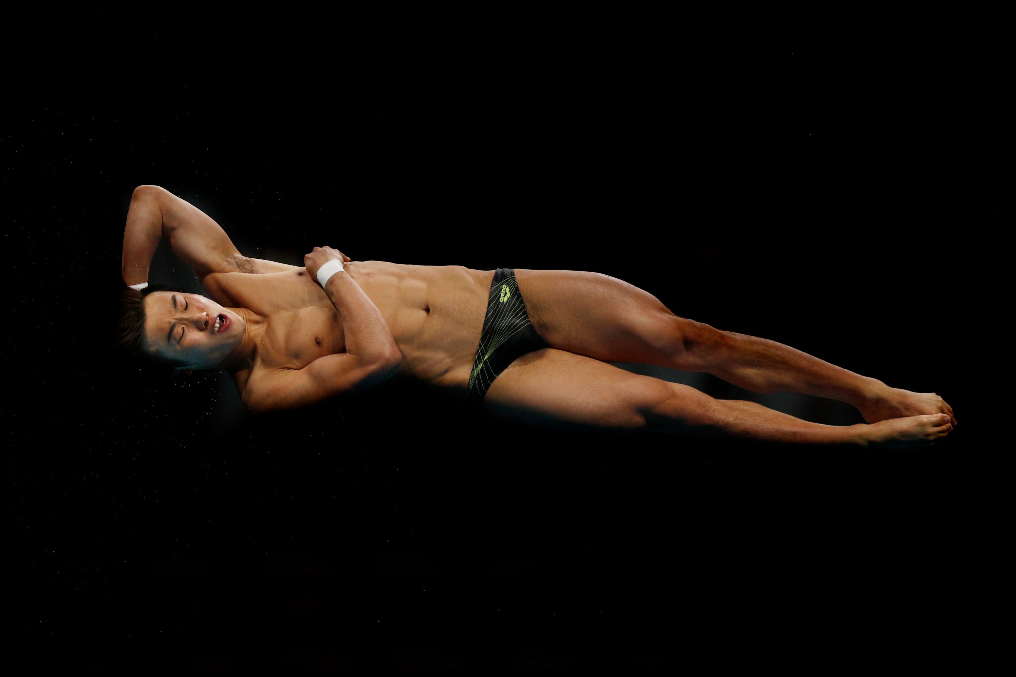Woo Ha Ram secured men's springboard gold for South Korea ©Getty Images
