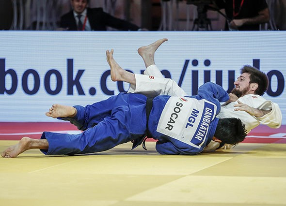 Mongolia have mixed fortunes in men's finals on second day of IJF Grand Slam in Abu Dhabi