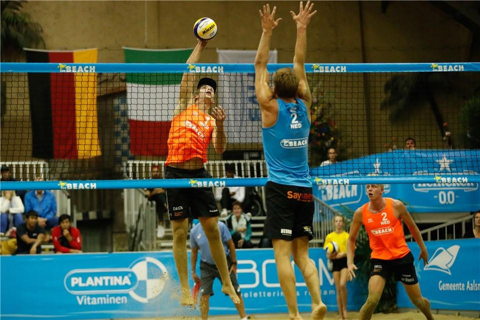 Three Dutch duos through to men's second round at FIVB Beach World Tour Aalsmeer Open