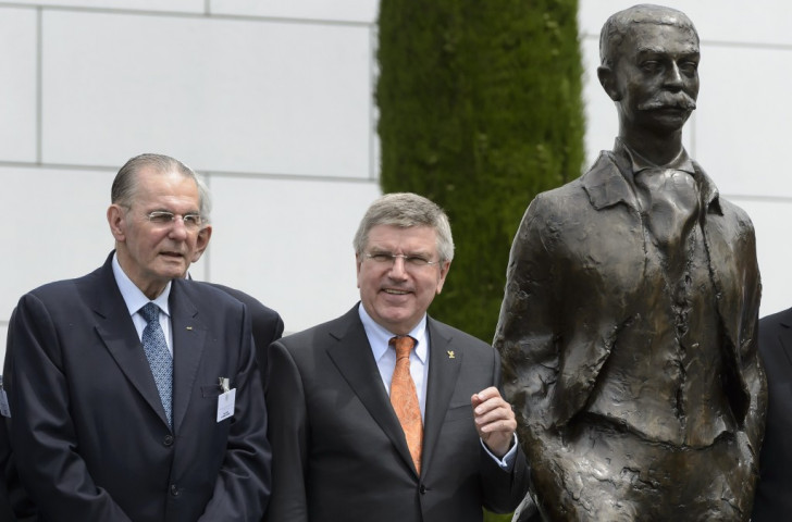 Thomas Bach (right), President of the International Olympic Committee, is facing a very different situation to that of his predecessor Jacques Rogge (left)