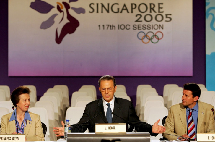 London beat Paris, Madrid, New York and Moscow to win the right to host the 2012 Olympics and Paralympics