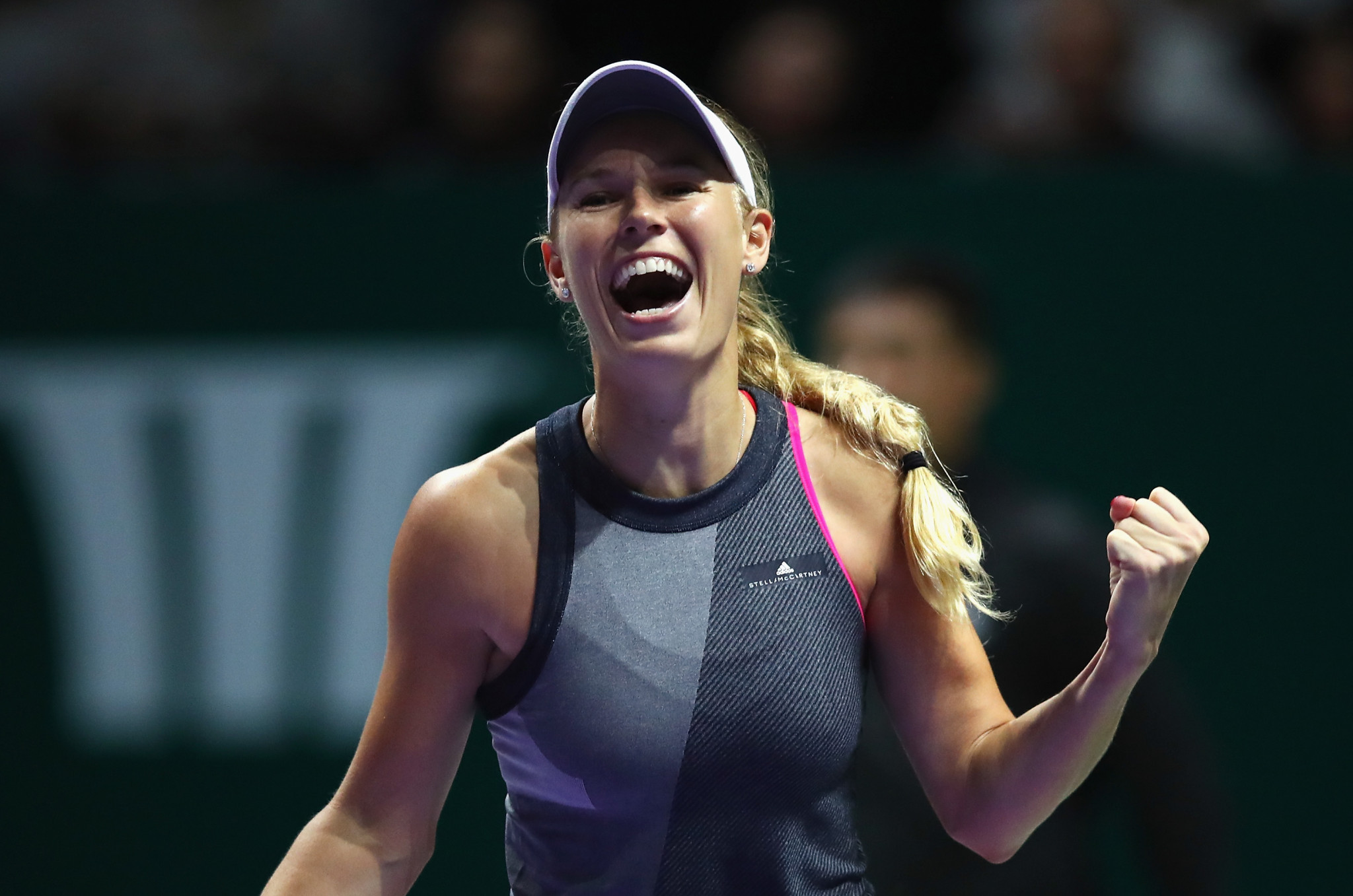 Wozniacki sets up Williams showdown at WTA Finals in Singapore