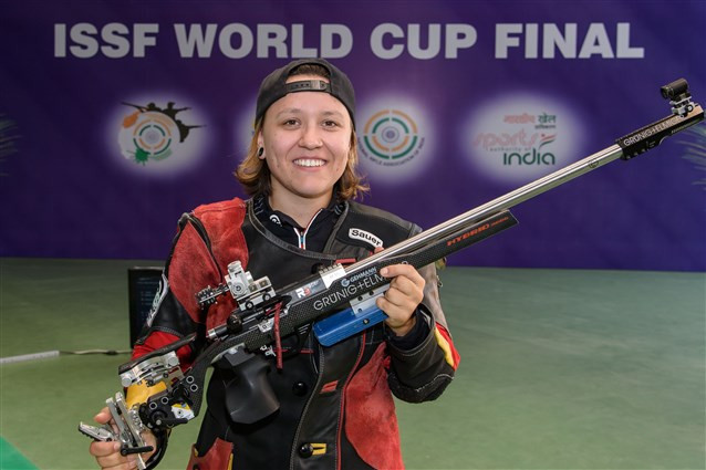 Beer clinches maiden ISSF World Cup Final title in New Dehli