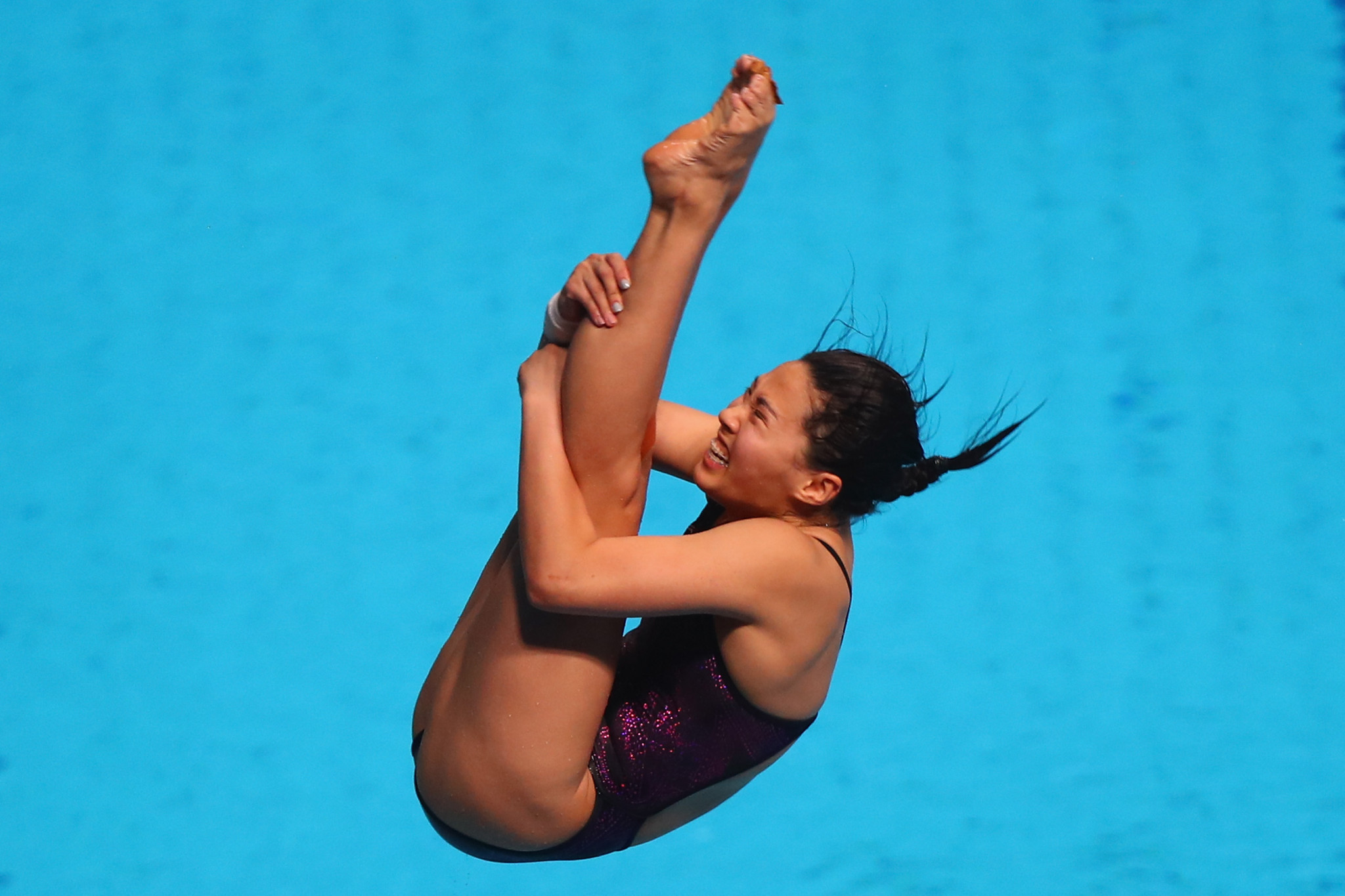 China's Wang Han won the women's 3m springboard final ©Getty Images