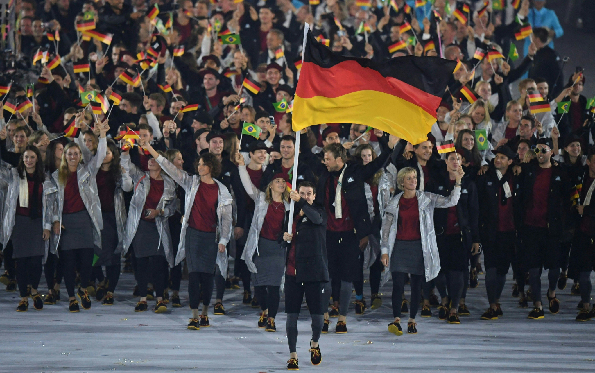 Rule 40 restrictions on German athletes is being challenged by the country's competition authorities ©Getty Images