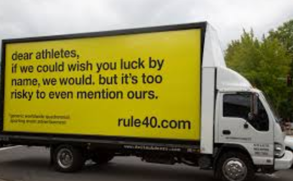 Rule 40 has long been a controversial rule at the Olympic Games ©Active Win
